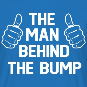 The man behind the bump T-Shirts - Men's T-Shirt