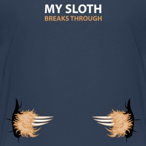 my sloth breaks trouth Tee shirts - T-shirt Premium Enfant