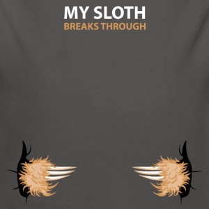 my sloth breaks trouth Babybody - Ekologisk långärmad babybody