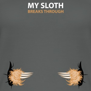 my sloth breaks trouth Topper - Øko-singlet for kvinner