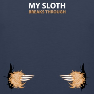 my sloth breaks trouth Sportbekleidung - Männer Premium Tank Top