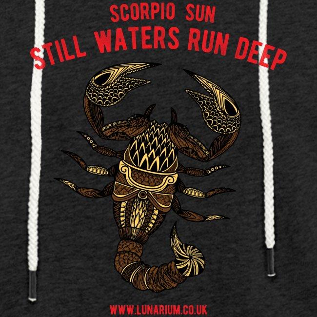 Scorpio Sun Light Unisex Sweatshirt Hoodie