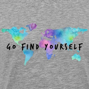Go Find Yourself - Travel The World T-Shirts - Männer Premium T-Shirt