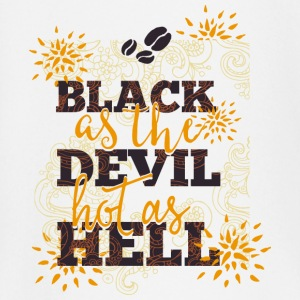 Black like devil-hot like hell- Coffee- Kaffee  Baby Langarmshirts - Baby Langarmshirt