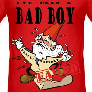 Chocked Xmas Gnome T-Shirts - Men's Slim Fit T-Shirt