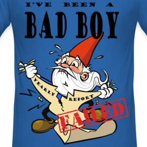 Chocked Xmas Gnome T-skjorter - Slim Fit T-skjorte for menn
