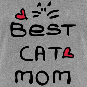 best cat mom typo  Women's Premium T-Shirt - Women's Premium T-Shirt