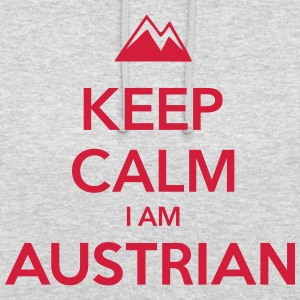 KEEP CALM I AM AUSTRIAN - Unisex Hoodie