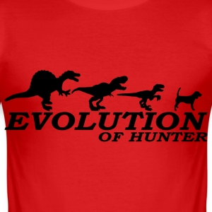 EVO Hunter - Männer Slim Fit T-Shirt