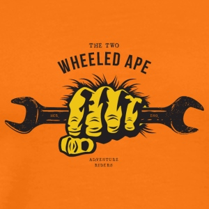 The Two Wheeled Ape APE HANDED - Men's Premium T-Shirt