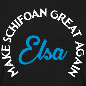 Elsa MAKE SCHIFOAN GREAT AGAIN T-Shirts - Männer T-Shirt