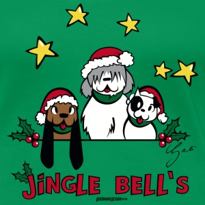 Jingle Bell`s T-Shirts - Frauen Premium T-Shirt