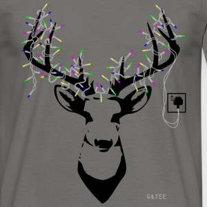 Stag Men's T Grey - Men's T-Shirt