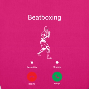 BEATBOXING IS CALLING! Bags & Backpacks - EarthPositive Tote Bag