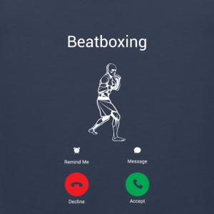 BEATBOX IS BELLEN! Sportkleding - Mannen Premium tank top