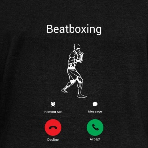 BEATBOXING IS CALLING! Hoodies & Sweatshirts - Women's Boat Neck Long Sleeve Top