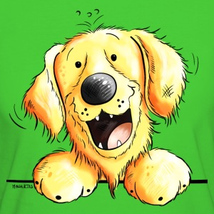 Der Golden Retriever ist da T-Shirts - Frauen Bio-T-Shirt