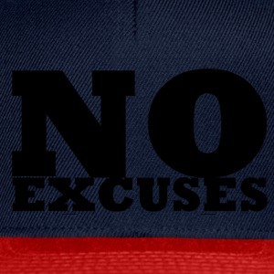 No Excuses - Casquette snapback