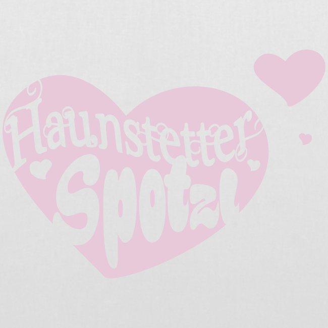 Stoffbeutel   Haunstetter Spotzl   rose