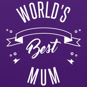 WORLD'S BEST MUM Bags & Backpacks - Tote Bag