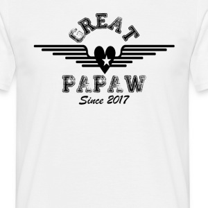 Great Papaw Since 2017 T-Shirts - Men's T-Shirt