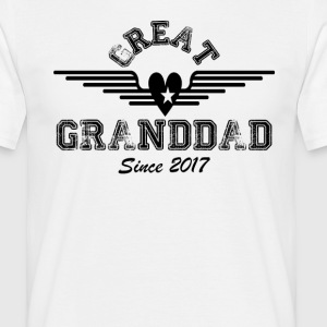 Great Granddad Since 2017 T-Shirts - Men's T-Shirt