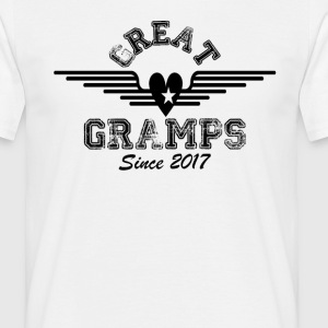 Great Gramps Since 2017 T-Shirts - Men's T-Shirt