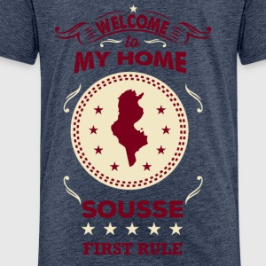 Welcome to My Home Sousse T-Shirts - Kinder Premium T-Shirt