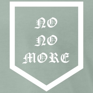 NO NO MORE - Pocket - Männer Premium T-Shirt