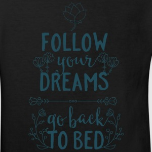Follow your dreams, go back to bed - Schlafen Bett T-Shirts - Kinder Bio-T-Shirt