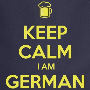 KEEP CALM I AM GERMAN - Kochschürze