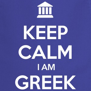KEEP CALM I AM GREEK - Kochschürze