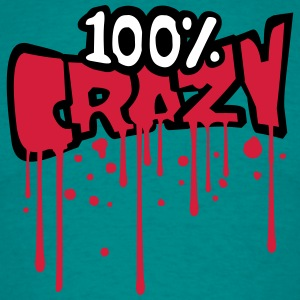 Blood graffiti drop color 100 hundred percent comi T-Shirts - Men's T-Shirt