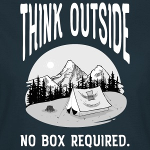 Think Outside - No Box Required T-Shirts - Women's T-Shirt