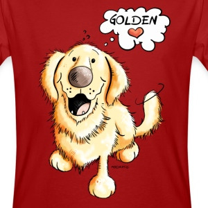 Golden Retriever in tournée Magliette - T-shirt ecologica da uomo