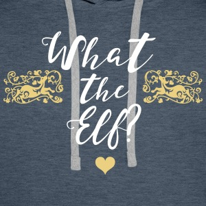 What The Elf? Sweaters - Mannen Premium hoodie