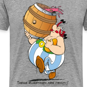 Asterix & Obelix - These Rugbymen - Men's Premium T-Shirt