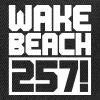 Wakebeach 257 Logo Free 1farbig - Snapback Cap