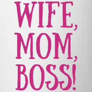 BGraphics Wife, Mom, Boss! Mug - Mug