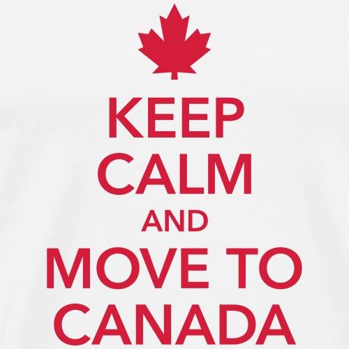 keep calm and move to Canada Maple Leaf Kanada