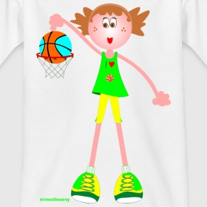 I love basketball Camisetas - Camiseta niño