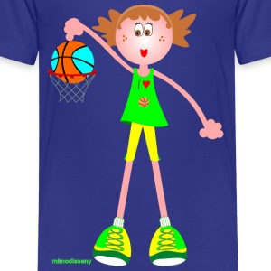 I love basketball Shirts - Teenager Premium T-shirt