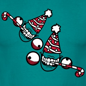 2 friends teamcrew birthday party celebrate hat dr T-Shirts - Men's T-Shirt