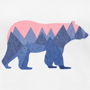 Weiß mountain bear T-Shirts - Frauen Premium T-Shirt
