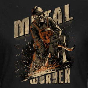 SSD Mechanic Metal-Worker Schmied Schweisser - RAHMENLOS Biker Trucker Design T-Shirts - Frauen T-Shirt