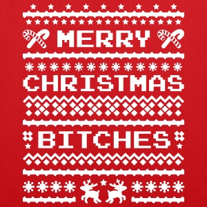 Merry Christmas Bitches Sweater Bags & Backpacks - Tote Bag