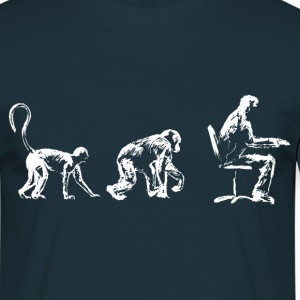 Evolution, Time for a Sit down. - Men's T-Shirt