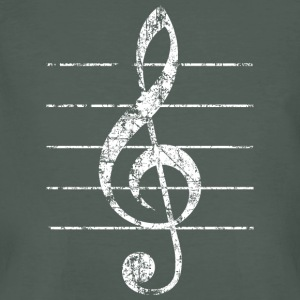 Violin key, musical key T-Shirts - Men's Organic T-shirt