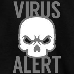 Virus warning Shirts - Kids' T-Shirt