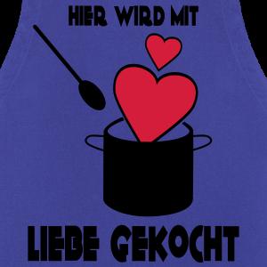 """Geburtstag T-Shirts mit """"Mit Liebe gekocht"""""""